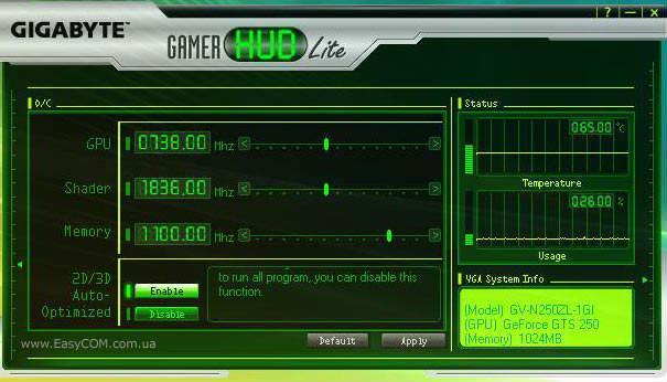 Gamer HUD